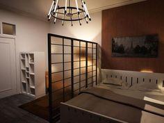 Japanese Style Studio Apartment Interiors