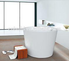 Modern Small High Acrylic Freestanding Round Bathtub White Deeply Acrylic  Walk In Bathtub   Buy Small