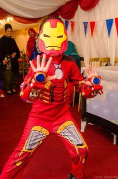 Iron Man to the rescue!