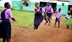 African kids playing jumprope, by the amazing @Keely Scott
