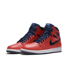 2f6ccfb8ea0 Air Jordan 1 Retro High OG Shoe - Red Retro Shoes