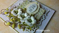 Kochanej mamie... Pastel Colors, Colours, Love Flowers, Succulents, Handmade Cards, Plants, Tutorials, Craft Cards, Pastel Colours