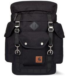 Carhartt WORK IN PROGRESS Black Files Backpack