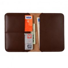 Leather Wallet: Daily Wallet