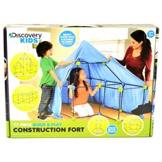 54aea2ac7d34 Overstock.com: Online Shopping - Bedding, Furniture, Electronics, Jewelry,  Clothing & more. Discovery Kids Construction FortIndoor ...