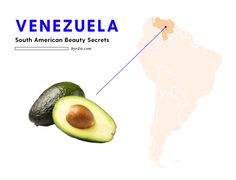 Venezuelan women know that avocados are a great ingredients for masks and hair treatments