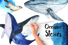 Oceanic Stories by KatyaBranch on @creativemarket