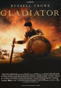Gladiator. a historical epic movie ever.