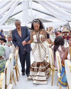African Bridal Dress, African Wedding Attire, African Attire, African Dress, Zulu Traditional Wedding Dresses, South African Traditional Dresses, Traditional Outfits, Xhosa Attire, Couples African Outfits