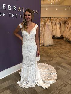 Boho Wedding Dress, Wedding Dresses, Formal Wear, Formal Dresses, Wear Store, Bridal And Formal, Crochet Lace, Special Occasion, Bridesmaid