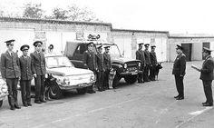 Автомобиль ЗАЗ-968 на службе в МВД СССР