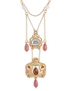 heavily ornamented pendant