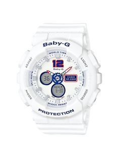Baby-G White Tricolor Series 2016-3
