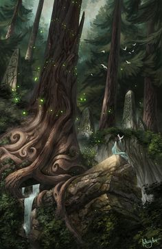 """amareverie: """"Protector of the Woodlands by AnthonyAvon """""""