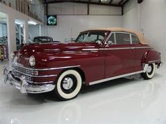 1949 Chrysler New Yorker Series Chrysler New Yorker Highlander Convertible Chrysler Voyager, Mopar, Vintage Cars, Antique Cars, Jeep, Dodge, Chrysler New Yorker, Chrysler Cars, Chrysler Imperial