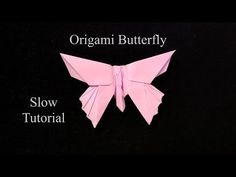 In this video I will shot you how to fold this Beautiful Origami Butterfly. This Origami model was designed by (Michael G. This is the slow tutoria. Origami Butterfly Instructions, Origami Butterfly Easy, Origami Tutorial, Origami Flowers, Origami And Kirigami, Origami Paper Art, Origami Folding, Origami Easy, Paper Crafts