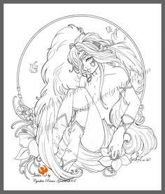 Blossoming By Tanaeldeviantart On DeviantART Angel Fantasy Myth Mythical Legend Wings Coloring PagesColoring