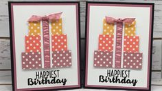 Cool Treats Happy Birthday Card   Stampin' Up!