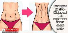 Dieta liquida efectiva - Elimina casi toda la grasa del vientre en una noche ✅Esta dieta le ayudará a deshacerse de los kilos de más y la grasa del vientre en sólo una noche, es ampliamente utilizado en los casos donde la gente esta corta con el tiempo.