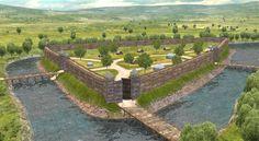 Szabolcs vára Castle Ruins, Medieval Castle, Garden Bridge, Castles, Golf Courses, Outdoor Structures, Chateaus, Palace, Locks