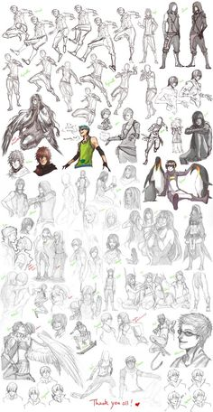 Sketch dump 23 by Namonn on DeviantArt