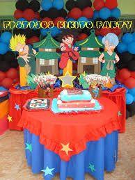 dragon ball z cumpleaños Ball Birthday Parties, 3rd Birthday, Dragonball Z Cake, Super Happy, Dragon Ball Z, First Birthdays, Balloons, Ideas Party, Fabric Dolls