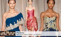 Marchesa Spring 2013 collection