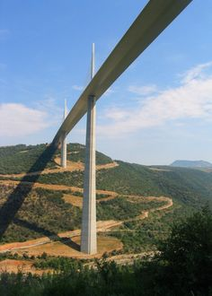 The Millau Viaduct, Tarn River Valley, France