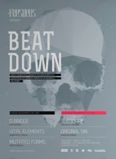 Free Minimal Beat Down Flyer Template - http://www.freepsdflyer.com/free-minimal-beat-flyer-template/ Free Minimal Beat Down Flyer Template – Great Flyer for promoting your next minimal electro edm events. Works perfectly as flyer or poster template.  #Beats, #Club, #Dance, #DjBattle, #Dub, #Dubstep, #EDM, #Electro, #HipHop, #IndieRock, #Minimal, #Night, #Nightclub, #Party, #Pub, #Retro, #Rock, #RockParty, #Techno, #Urban