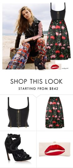 """Flowers & Love..."" by katelyn999 ❤ liked on Polyvore featuring Erdem, Alexander McQueen and Roger Vivier"