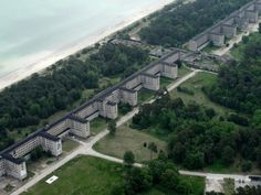 Prora : the Colossus of Rügen designed by Hitler