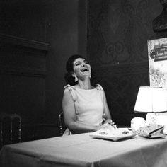 Maria Callas, joyful