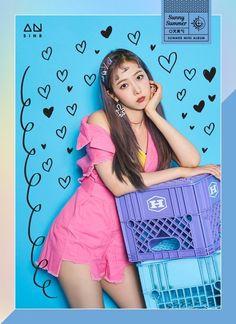 GFriend's SinB - GFriend Summer Mini Album - Coming soon on 180719 Gfriend And Bts, Sinb Gfriend, Gfriend Sowon, Kpop Girl Groups, Korean Girl Groups, Kpop Girls, Extended Play, Gfriend Profile, Gfriend Album