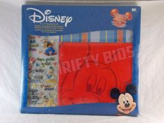 "Disney Mickey Mouse Gift Set 8X8"" Scrapbook Album Kit 42 Pieces Red DGSM002 New #Disney"
