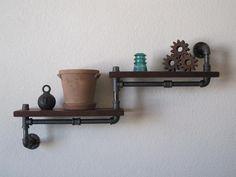 Popular items for pipe shelves on Etsy