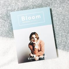 I can't wait to spend my long weekend reading this!  Bloom by Estee Lalonde