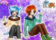 Gumball y Darwin Anime Style | Juegos de Gumball - jugar online
