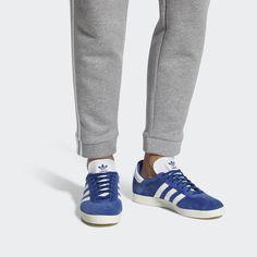 online store d1a18 c889a adidas Gazelle Shoes - Blue  adidas US Blue Shoes, Originals, Sneakers,  Blue