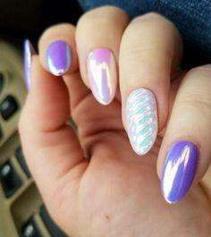 5-Colores-polvo-de-unas-cromo-arco-iris-Unicornio-Ab-Espejo-Efecto-Sirena-unas