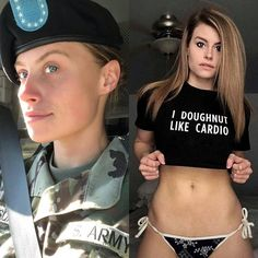 Sexy women who look great in their uniforms and hot out of them : theCHIVE Military Women, Military History, Military Girl, Female Soldier, Girls Uniforms, Girl Photo Poses, Looking For Women, Women Empowerment, Sexy