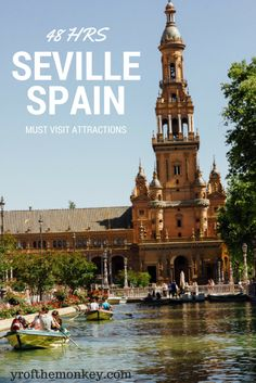 The ultimate travel guide to Seville Spain in Europe, the home to Flamenco! Top attractions and how to watch an authentic flamenco show included!