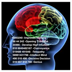 Grabovoi Number Sequence for the Mind.