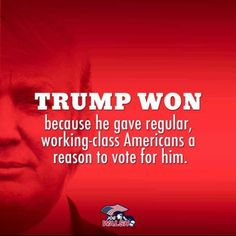Make America Great Again! Amen...