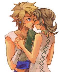 Link and Ilia.