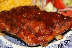 Slow Cooker Baby Back Ribs Recipe!  http://www.stewardofsavings.com/2014/08/slow-cooker-baby-back-ribs-recipe.html