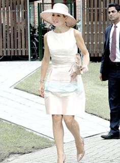 koninklijkhuis: Queen Maxima opened Papageno House, which teaches young people with autism to live independently, August 26, 2015