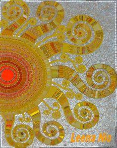 Sun mosaic by Leena Nio