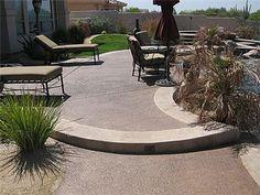 Concrete Patio - Patio Ideas, Backyard Designs and Photos - The Concrete Network Concrete Patios, Concrete Patio Designs, Outdoor Patio Designs, Patio Ideas, Pool Ideas, Backyard Ideas, Outdoor Spaces, Outdoor Living, Garden Ideas
