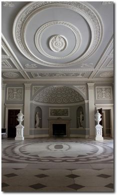 Osterley Park House- Neoclassical Style Seen At The Regency Furniture Blog