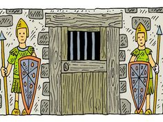 Free visuals: Paul & Silas in Prison
